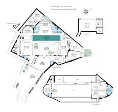 Kris Jenner House Floor Plan pleasant house plans with inside swimming pool 2 home pool