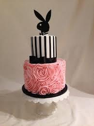Kitchen Tea Cake Ideas by Bridal Shower Cake Fondant Fondant Ruffles Stripes Playboy