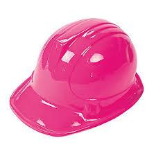 Halloween Costume Construction Worker 12 Pink Construction Worker Hats Dozen Birthday Party Favors