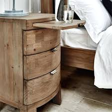 rustic wood side table wooden side table rustic bedside table next to rustic bed diy wooden