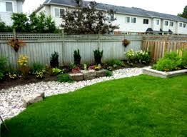 Inexpensive Backyard Ideas Landscape Easy Simple Landscaping Ideas Part 34 With Diy