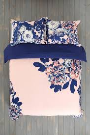 navy blue and coral bedding home decoration ideas