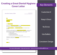 Best Resume Letter Sample by 5 Tips For Creating A Dental Hygiene Cover Letter That Gets You