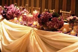Wedding Head Table Decorations by Wedding Decorations Toronto Event Decorators Wedding Decor