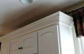 installing crown molding on cabinets cabinets to ceiling kitchen amazing install crown molding on kitchen