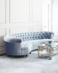 sofas center peacockue tufted sofa navy leather sofablue velvet