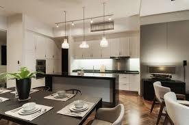 Condominium Kitchen Design by Urban Interior Design Andaman Quayside Penang Vault Design Lab