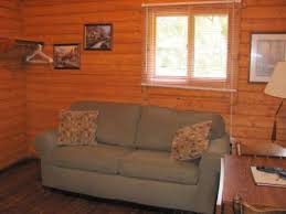 Cabin Sofa Log Cabin Vacation Rentals U0026 Resort In Mayo Florida Suwannee
