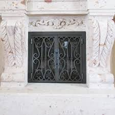 rectangular custom fireplace doors fireplace door guy