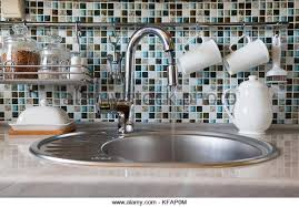 how to open kitchen faucet tap water flow stock photos tap water flow stock images alamy