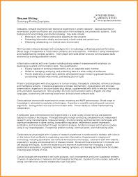 Amazing Resumes Examples Example Of Resume Summary The Best Summary Of Qualifications