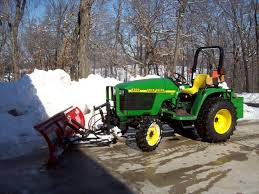 new to me john deere 4300 and looking for attachments