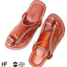 handmade leather sandals for men and women arabic style buy