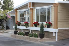 Decorating Mobile Homes Mobile Home Exterior Decorating Ideas Remodeled Manufactured Home