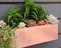 Urban Wall Garden - modern wall planter etsy