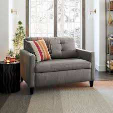 Small Sectional Sleeper Sofa Leather Sleeper Sofa For Small Spaces Suitable With Comfortable