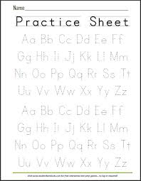 printable alphabet tracing sheets for preschoolers free printable handwriting abc worksheet now that evie can