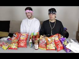 Challenge Lil Moco Cholos Do Cheeto And Takis Challenge