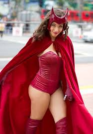 Red Witch Halloween Costume 169 Cosplay Scarlet Witch Images
