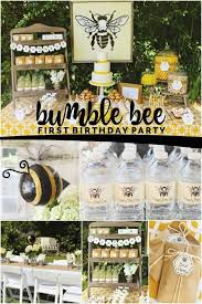 1st birthday party ideas boy bee themed birthday boy party ideas spaceships and laser