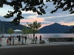 al porto lugano beautiful place and meal albeit pricey we had dinner with a large