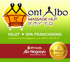 franchise mont albo massage hut