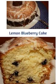 lemon blueberry cake desserts required
