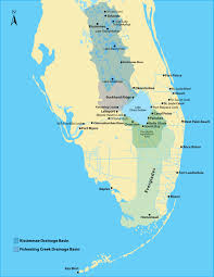 Map East Coast Florida by Lake Okeechobee Following The Flow U003e Jacksonville District