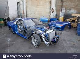 modified race cars heavily modified nissan skyline drag racing car with bonnet and