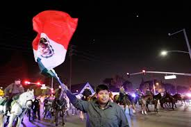 why it u0027s perfectly ok for activists to wave mexican flag at