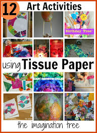 art and craft for kids with tissue paper ye craft ideas