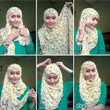 tutorial hijab pashmina tanpa dalaman ninja hijab modern tanpa ninja terbaru 2016