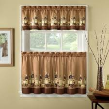 What Is A Cafe Curtain Rod Buy 24 Inch Curtain Tiers From Bed Bath U0026 Beyond