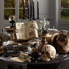 halloween snow globe bejeweled skull halloween decor pier 1 imports