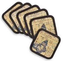 Bed Bath And Beyond Coasters Bed Bath U0026 Beyond Bamboo Placemats And 6 Coaster Sets 99 Free