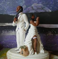 black wedding cake toppers buy a made custom wedding cake topper made to order from awe