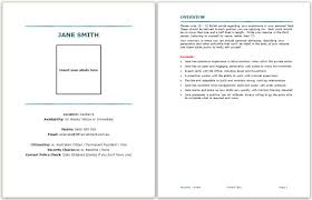 Resume Template With Picture Insert Download A Resume Template Face2face Recruitment