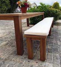 picnic table seat cushions extraordinary home ideas with additional picnic table bench seat