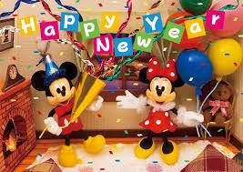 disney new year party 3d lenticular greeting card premium
