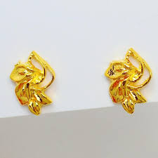 cheap earrings 2017 yunnan alluvial gold earrings cheap earrings bridal jewelry