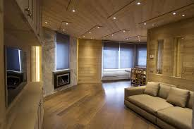 decorating modern living room design with ethanol fireplace and