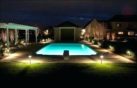 outdoor pool deck lighting pool landscape lighting led landscape lighting landscape lighting