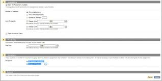 Assignment Form Using Blackboard Assignments To Manage Student Papers Teaching