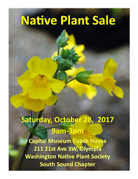 native plant sale washington native plant society south sound chapter