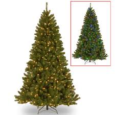 7 5 ft pre lit fremont pine full artificial christmas tree color