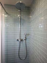 glass bathroom tiles ideas smoke glass subway tile subway tile showers subway tiles and