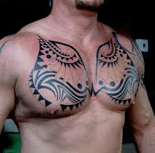mens chest tribal tattoos mens chest tribal tattoos 45 tribal