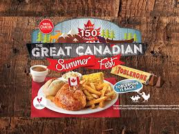 swiss chalet launches the great canadian summer promotion