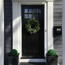 eclectic home tour house number 214 black front doors front