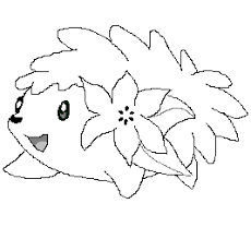 shaymin pokemon coloring pages more information